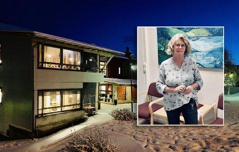 Avdelingsleder Inger Reppen og de ansatte ved Bergseng bo- og servicesenter måtte isolere alle beboerne på sine egne rom etter at det første kjente smittetilfellet ble oppdaget i Harstad 12. mars.
