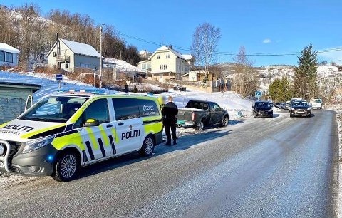 Politiet meldte først om ulykken klokken klokken 0812 og var da på vei til ulykkesstedet.