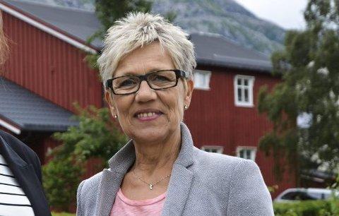 SJEF: Sissel Valåmo er daglig leder for EiendomsMegler 1 i Sandnessjøen.