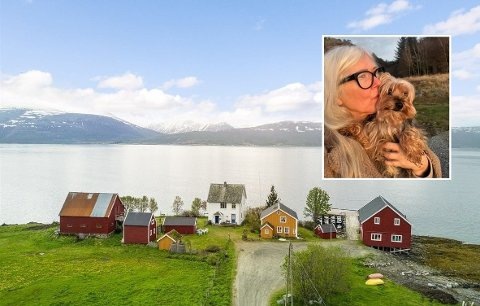 TUNGT: Gunn Auglend Nedrebø synes det var en tung, men likevel riktig beslutning å selge den over 200 år gamle familieeiendommen på Finnkroken i Troms.