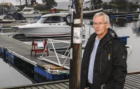 Nok er nok: Havnefogd Svein Arne Walle mener havnevesenet har strukket seg langt for å imøtekomme kravene fra Rørvik båtforening.