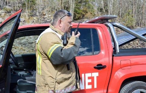Avdelingsleder i Kragerø brannvesen, Odd Morten Dalen.