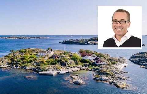BLANT DE DYRESTE: Pål Erik Sjåtil kjøpte Store Krikkholmen for 25 millioner i sommer.