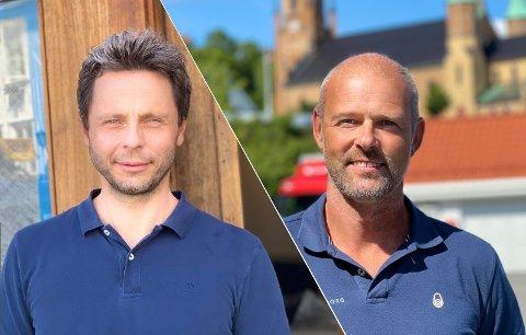 ORDKNAPPE: Verken Knut Bremer ved Fredensborg Fritid AS eller David Kristiansen ved Kragerø Utvikling AS har noe på hjertet til avisa.