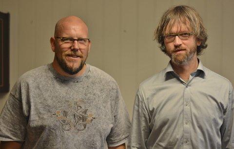 Karl Petter Vårdal og Gaute Lund er rørte over dei gode tilbakemeldingane etter årets humanistiske konfirmasjon.ARKIVFOTO