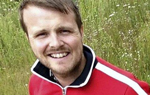 Espen Berg er programlederen for omstilling og nyskaping i Rollag, og er stolt av kona Nevada.
