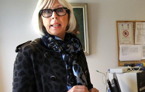 IKKE I ÅR: Alfhild Skaardal,  direktør ved Bergverksmuseet, har besluttet å droppe kniv- og klokkemarken.