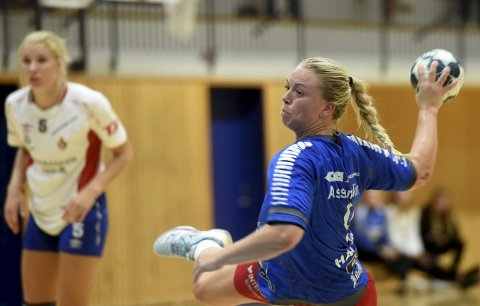 SKRIMS TOPPSCORER: Trine Haugstad er Skrims toppscorer og har scoret 89 mål på 18 kamper denne sesongen. Det gir henne niendeplass på toppscorerlista i eliteserien.