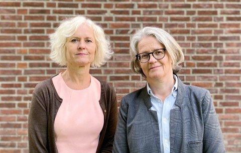 INNSENDERNE: Tove Gundersen, generalsekretær i Rådet for psykisk helse og Cathrine Th. Paulsen, redaktør i Magasinet Psykisk helse.