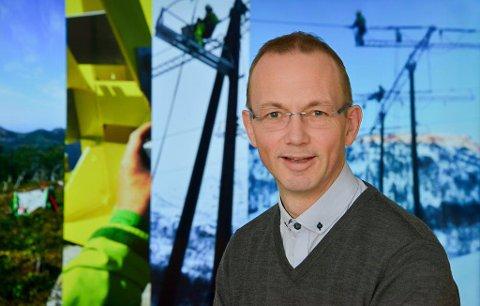 Mindre feil: - Med det nye nettet vil sannsynligheten for feil bli kraftig redusert, samtidig som konsekvensene ved feil blir mye mindre, sier nettsjef i Lofotkraft, Pål Martinussen.