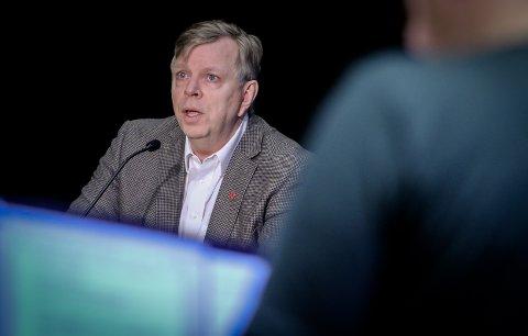NYTT TILBUD: Rådmann Hans Reidar Ness opplyser at Moss kommune nå har opprettet en egen hjelpetelefon for familier som har bekymringer i disse korona-tider.