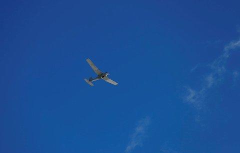 VARSLER ØVING: Luftforsvaret skal øve med ubemannede fartøy – droner – som denne torsdag kveld.