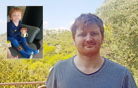 GIR IKKE OPP: I ni måneder har Ricky Pedersen vært i Hellas. I Norge har han foreldreansvaret alene for sønnen, og politiet har etterlyst gutten internasjonalt. Likevel vil ikke greske myndigheter sende gutten hjem. De mener han har det bedre i Hellas med sin mor.