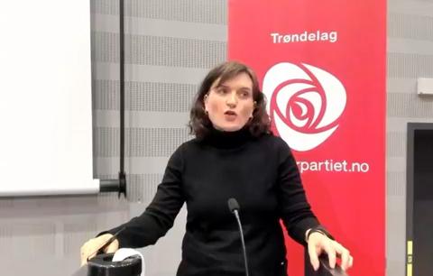 FORTSETTER PÅ TOPP: Hanne Moe Bjørnbet ble gjenvalgt som leder i Trondheim Ap.