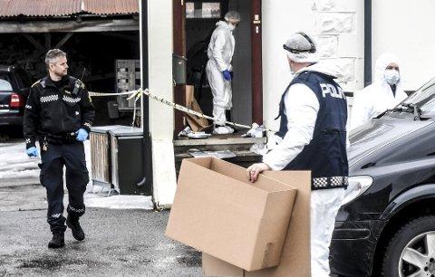 SPORSIKRING: - Vi har sikret spor og undersøkt åstedet der hun ble funnet død, sier politiadvokat politiadvokat Bjørn Bunkholt Sæter til TA.