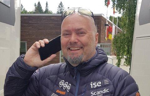 GRÜNDER MED SUKSESS: Han har grunn til å være fornøyd: – Det er det beste året i konsernets historie, sier Stig Otto Nilsen. Foto: Avisa Nordland