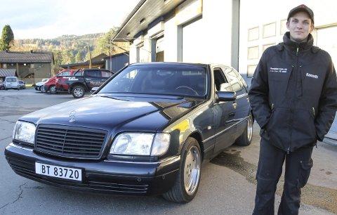 Mafia-favoritt: Denne luksus-Mercedesen er blant annet populær blant «nattarbeiderne» i Russland, noe Kenneth Øverhaugen Raaholt bare ser på som et pluss.