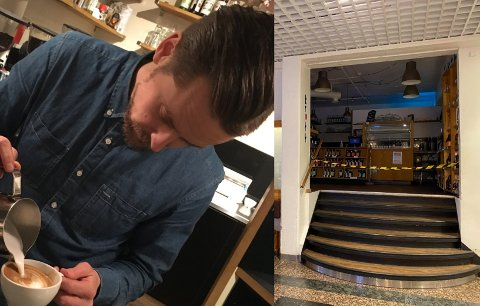 ÅPNER IGJEN: Krutt meldte på sin Facebook-side mandag at noe er på gang. Nå røper daglig leder Daniel Hilsen hva som skal skje.
