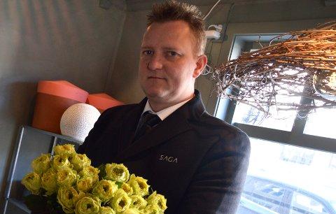 NY AVDELING: Ole Steen åpner en ny avdeling av Saga Begravelsesbyrå  i Innlandet.
