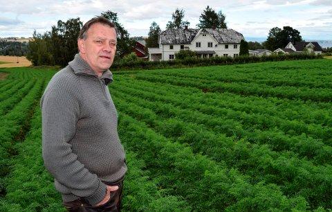 TO GARDER: Per Idar Vingebakken har kjøpt – og fått konsesjon – på garden Nedre Alm for at han skal kunne overdra en gard til hver av sine to sønner.