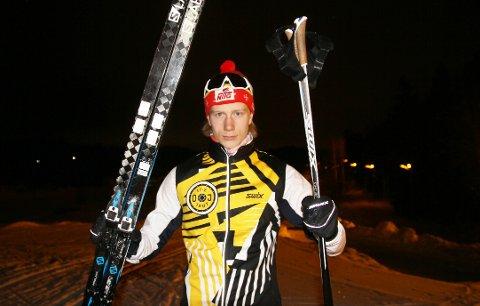 AMBISJONER: - Jeg vil satse for fullt på langrenn også etter videregående, sier OI-løperen Fredrik Stenersen, som går andre året ved NTG på Lillehammer og sikter mot toppen i langrenn.