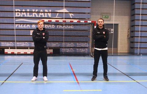 FOLLO HK UANSETT: Kasper Lothe (t.v.) og Sander Smestad knytter seg til Follo HK for henholdsvis to og tre år.