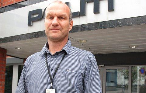Krimsjef hos politiet i Larvik, Knut Vidar Vittersø.