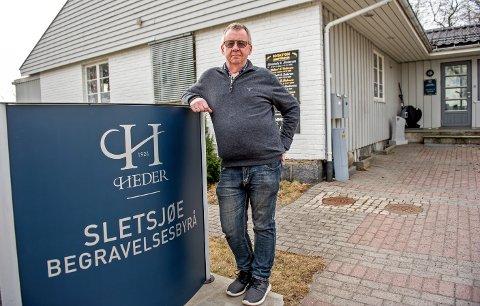 FJERDE GENERASJON: Som sin oldefar, bestefar og far driver Tom Sletsjøe nå familiefirmaet videre fra kontorene i Nansetgata.