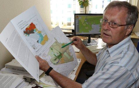 BLIR BERØRT: – Et forbud mot nydyrking av myr vil få konsekvenser i Våler, sier kommunalsjef for teknisk sektor, Asgeir Rustad.