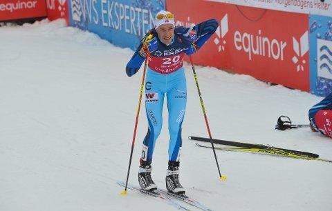GIR SEG: Truls Sønsthagen Johansen debuterte i verdenscupen i 2009, men klarte aldri ta steget opp i verdenseliten i kombinert. Nå legger elverumsingen skiene på hylla.