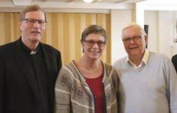 RÅD: F.v. Bjerkseth, Moe Skreosen og Pedersen.