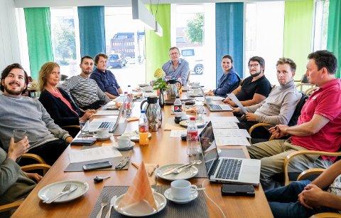 Lærerne ved Rakkestad kulturskole hadde oppstartsmøte i formannskapssalen tirsdag.