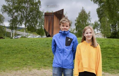 Talent: Tobias Falstad og bandet Høydeskrækk og Emma Røed er de lokale talentene som spiller på Underverket i år.Foto: lisa Ditlefsen