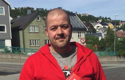 PÅ KONTROLL: Stein Arnold Kristiansen og resten av LO har kontrollert bedrifter i Troms.