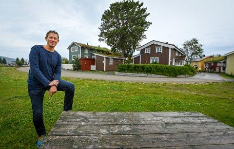 Torbjørn Tråslett, daglig leder i Visit Helgeland.