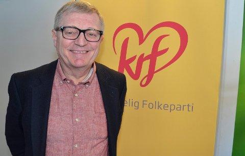 Gjenvalgt: Oluf Maurud er  gjenvalgt som leder i Innlandet KrF.