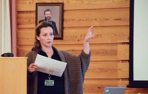 PÅ ALVOR: Prosjektleder i Statsbygg, Mari Magnus, vil ta de mange uttalelsene for Utsikten på alvor.
