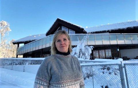 SMITTE I BARNEHAGEN: Gunn Randi Tuft er styrer i Sokna Natur- og Gårdsbarnehage hvor det ble påvist smitte i januar. Nå også i mars.