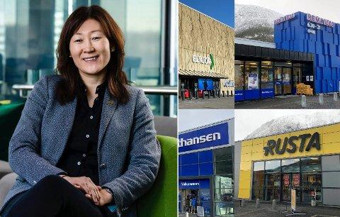 FORNØYD: Administrerende direktør Jane K. Gravbråten er fornøyd med at AKA har sikret seg flere eiendommer.
