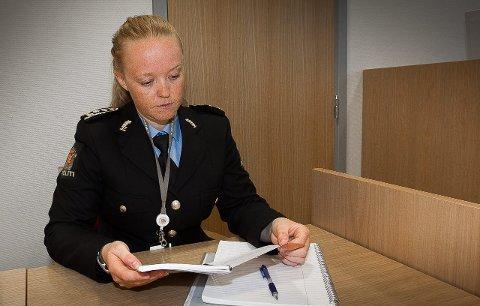 – BELASTENDE: – Det er en veldig belastende sak for ofrene, sier politiadvokat Line Thorsberg i Romerike politidistrikt. FOTO: Kay Stenshjemmet