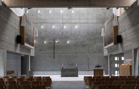 PRIS: Teglen på Spikkestad har fått betongprisen 2019.