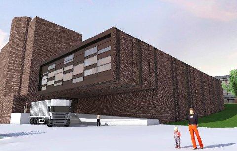 PÅBYGG MOT NORD: – Den nye arenaen for kulturlivet må bli mer enn mer enn bare et påbygg, sier Sandefjord Kulturråd. (Illustrasjon: Spir Arkitekter)