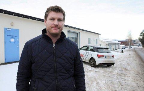 NY EIER: – Vi synes eiendommen til Stokke Stål er interessant, sier skiensmannen Audun Lia.