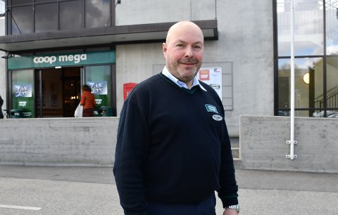 Nils Søyland Sandmo er en av flere kjøpmenn som engasjerer seg i en stor nasjonal ryddeaksjon fra lørdag.