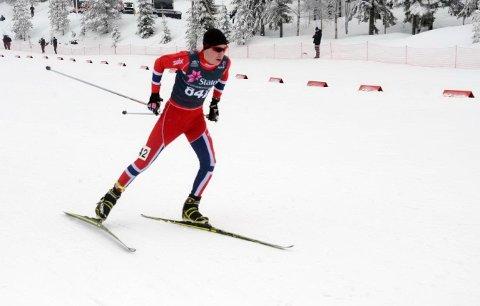 KLAR FOR JUNIOR-VM: Jørgen Lippert fra Trøsken IL er tatt ut til junior-VM i Sveits i månedsskiftet januar/februar.