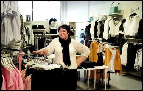 ÅPNER SNART: Elisabeth Johansen fra Sarpsborg skal åpne ny butikk, denne gang i Iseveien senter.