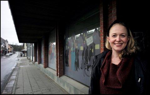 Nye lokaler: Anne Mari Elvestad og Diorama sang, dans og drama har tatt over de tidligere lokalene til Bergen bank i Glengsgata.