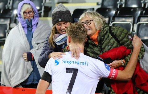 BLIR VERANDE: Dersom Eirik Bakke får det som han vil, blir Sivert Mannsverk verande nær familien sin ei stund til.