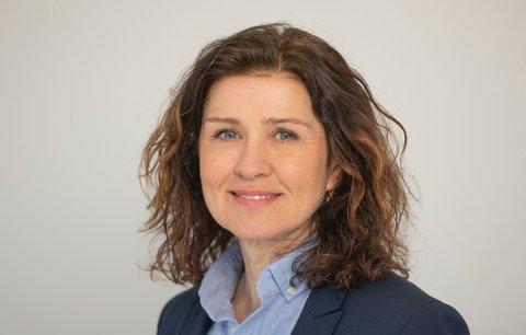 POSITIVT: Merethe Haftorsen ser ei positiv trend på arbeidsmarknaden.
