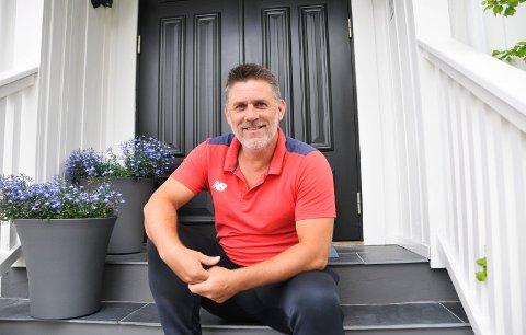 PÅ ØNSKELISTA: Pors-trener Tommy Svindal Larsen ønsker å hente Eben Koranteng tilbake til Porsgrunn. Foto: Kristian Holtan